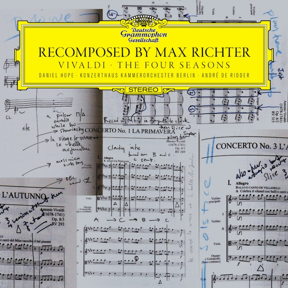 "Recensione ""RECOMPOSED BY MAX RICHTER – VIVALDI – THE FOUR SEASONS"" – a cura di Matteo Breschi"